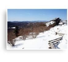 Split Rock At Grandfather Mountain Canvas Print