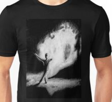 Fire Walking SlenderMan Unisex T-Shirt