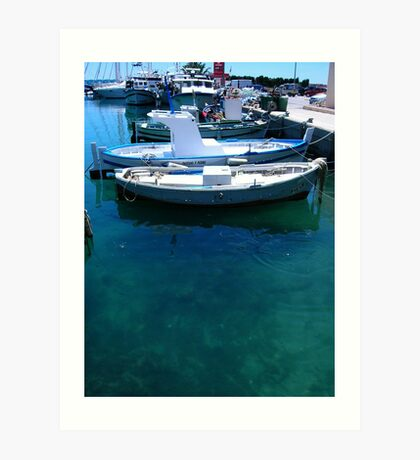 Javea Port Art Print