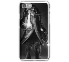 The Fireman -black and white iPhone Case/Skin