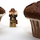 Cakes - why did it have to be cakes?? by Kevin  Poulton - aka 'Sad Old Biker'