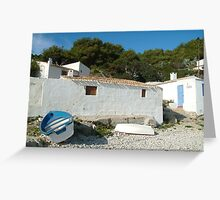 Fisherman's Cottage Greeting Card