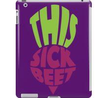 This. Sick. Beet iPad Case/Skin