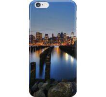 Blue Manhattan iPhone Case/Skin