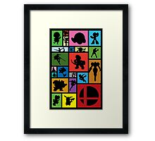New Challengers Approaching Framed Print