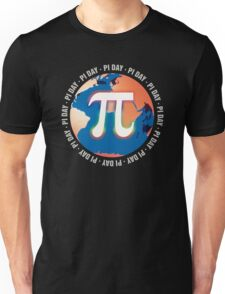Pi Day on Earth Unisex T-Shirt