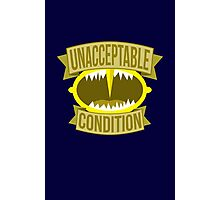 Unacceptable Condition Photographic Print
