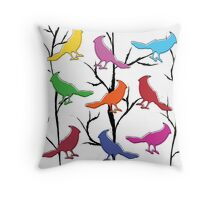 Put A Bird On It Throw Pillow