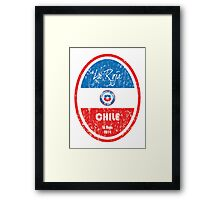 World Cup Football - Chile Framed Print