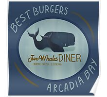 Two Whales Diner Poster