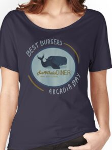 Two Whales Diner Women's Relaxed Fit T-Shirt