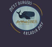 Two Whales Diner Unisex T-Shirt