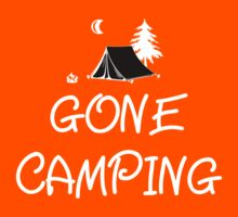 Gone Camping T Shirt Kids Clothes