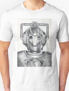 Cyberman Pencil Drawing T-Shirt