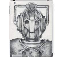 Cyberman Pencil Drawing iPad Case/Skin