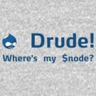 Where's my $node? (Blue) by cafuego