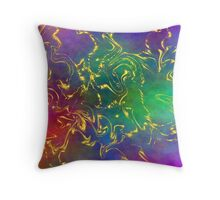Iris Nova Throw Pillow
