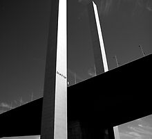 Bolte Bridge reaching for the Sky by Andrew Wilson