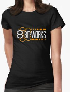 8Bit-Works LOGO Womens Fitted T-Shirt