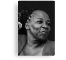 African voice Canvas Print