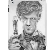 Matt Smith Portrait - 11th Doctor iPad Case/Skin