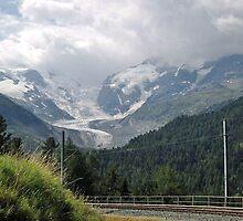 Morteratsch Glacier, Switzerland by Monica Engeler