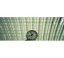 Clocks in Liege Photographic Print