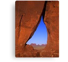 Monument Valley #13 Canvas Print