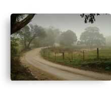 Prendegast Lane,Cobaw,Macedon Ranges Canvas Print