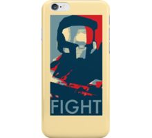 FIGHT - Halo Campaign iPhone Case/Skin