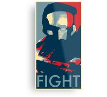 FIGHT - Halo Campaign Metal Print
