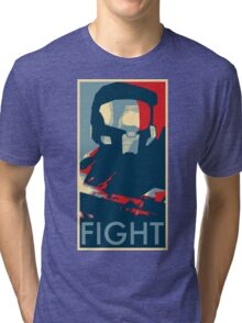 FIGHT - Halo Campaign Tri-blend T-Shirt