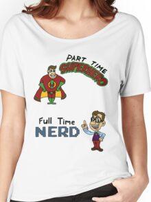 Part Time Superhero, Full Time Nerd Women's Relaxed Fit T-Shirt