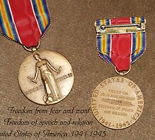 WWII Medal by BCallahan