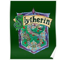 Slytherin House Crest Poster