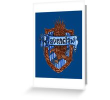 Ravenclaw House Crest Greeting Card