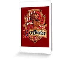 Gryffindor House Crest Greeting Card