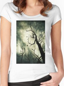 Beckoning Women's Fitted Scoop T-Shirt