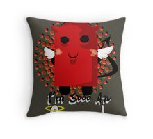 Sooo An Angel Throw Pillow