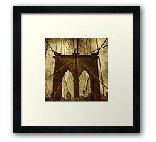 Industrial Spiders Framed Print