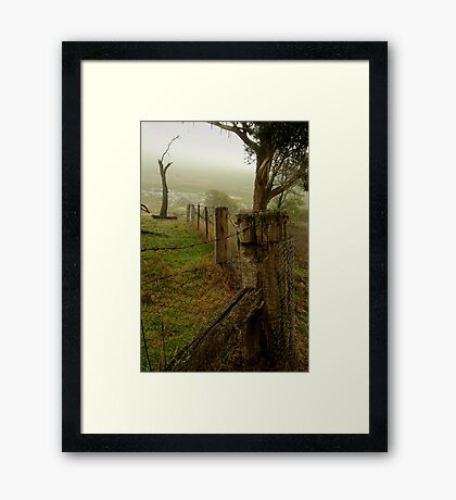 Mist and Dew Framed Print