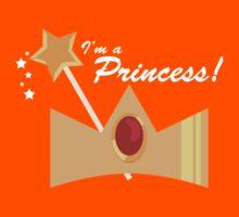 I'm A Princess! Kids Tee