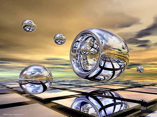 Shooting Hoops (v.2) by Sandra Bauser Digital Art