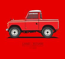 Land Rover Series 3 SWB Pickup by ARVwerks