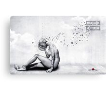 The Comfort She Craves Canvas Print