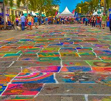 Children's Coloring Street by njordphoto