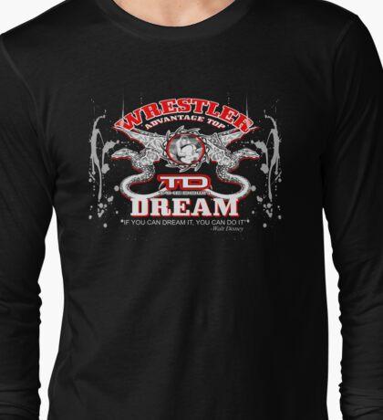 dragon wrestler Long Sleeve T-Shirt