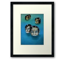 WATER NYMPHS Framed Print