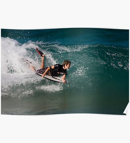Body/Boogie Boarding Poster