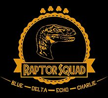 Raptor Squad - Jurassic World or by ervinderclan